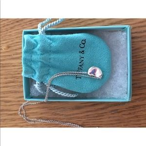 Tiffany and co bean necklace